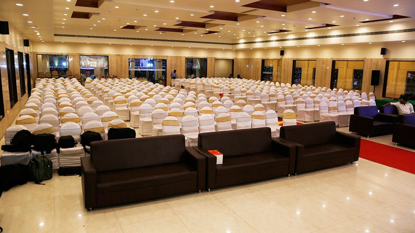 Convention center at Vijayawada for marriage functions
