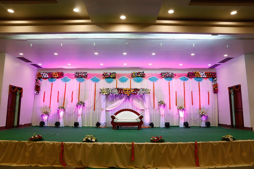 Kalyana mandapam in vijayawada marriage halls in vijayawada for Hall decoration images