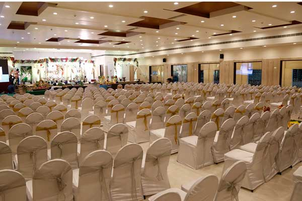 AC banquet halls and convention centers